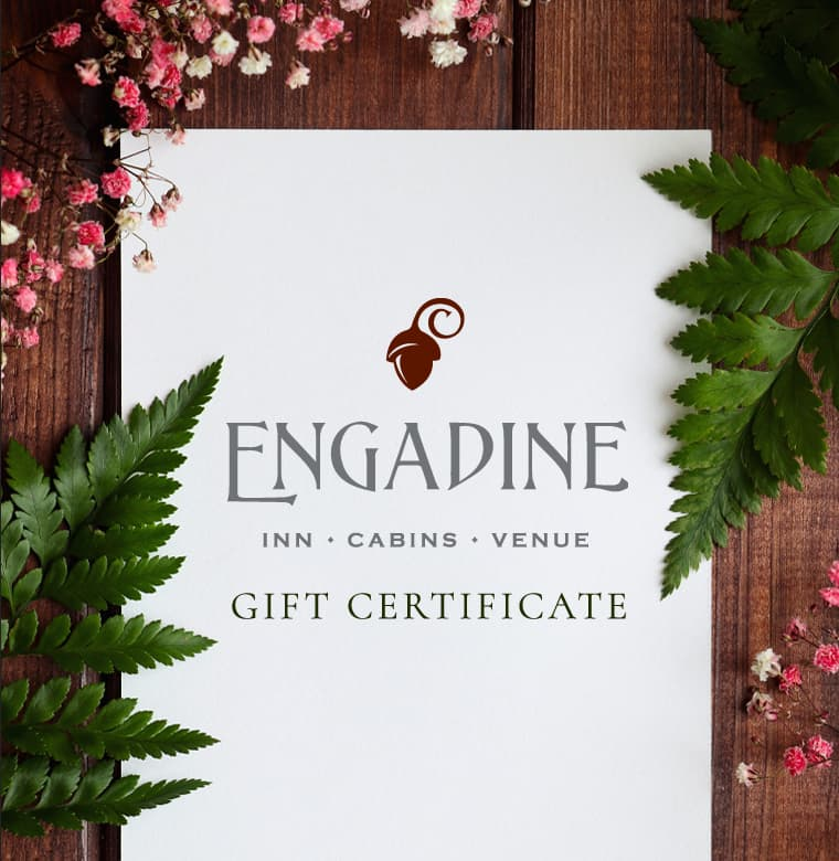 Engadine bed and breakfast gift certificate