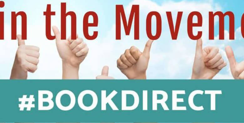 book direct graphic with thumbs up